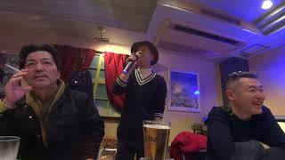初芝高校同窓会 2018 2.11 ライブ イン 堺東 スナックでカラオケ.