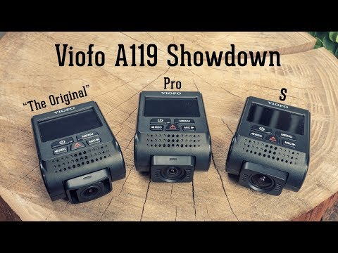 Viofo A119 Pro Review • A119V2 & A119S Comparison and Update