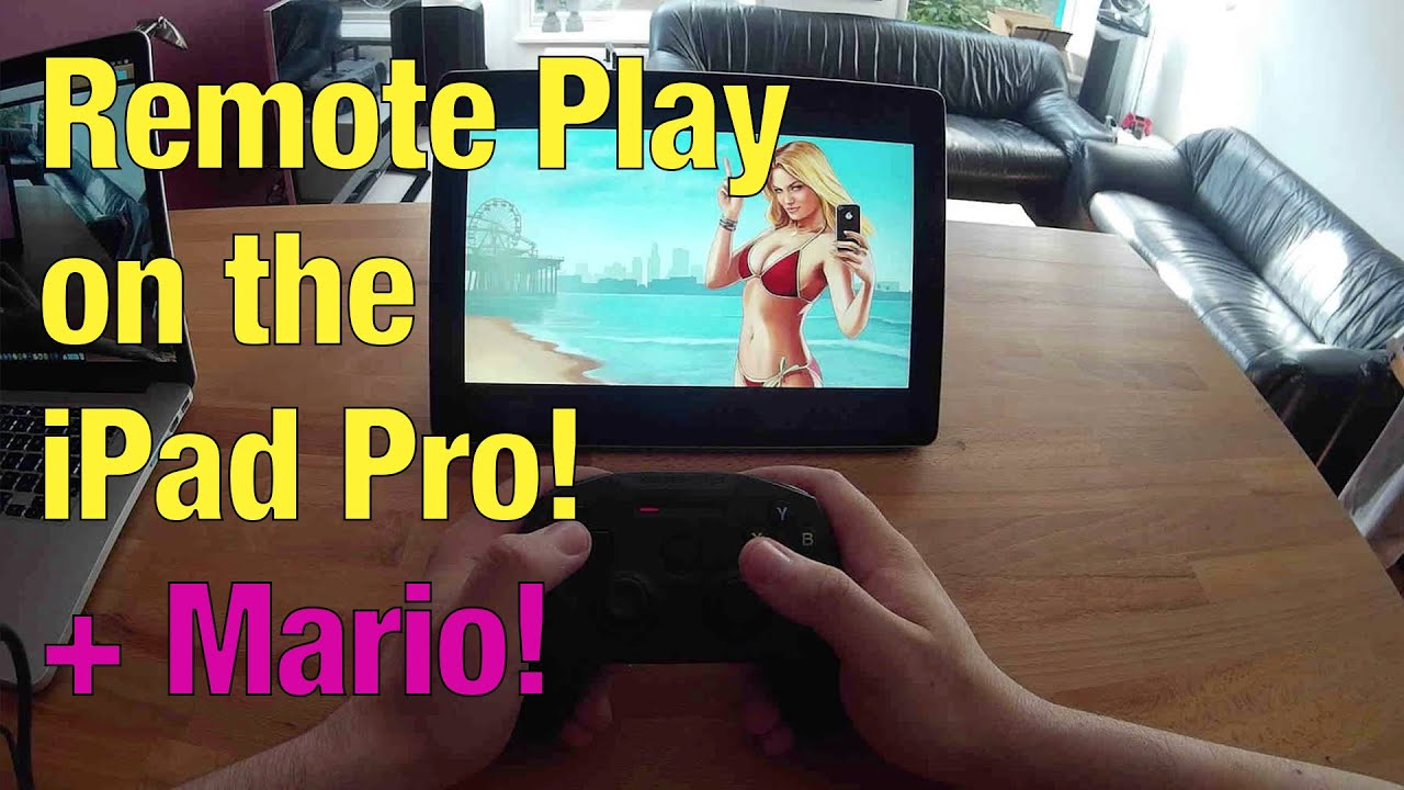 how to use ps4 on ipad