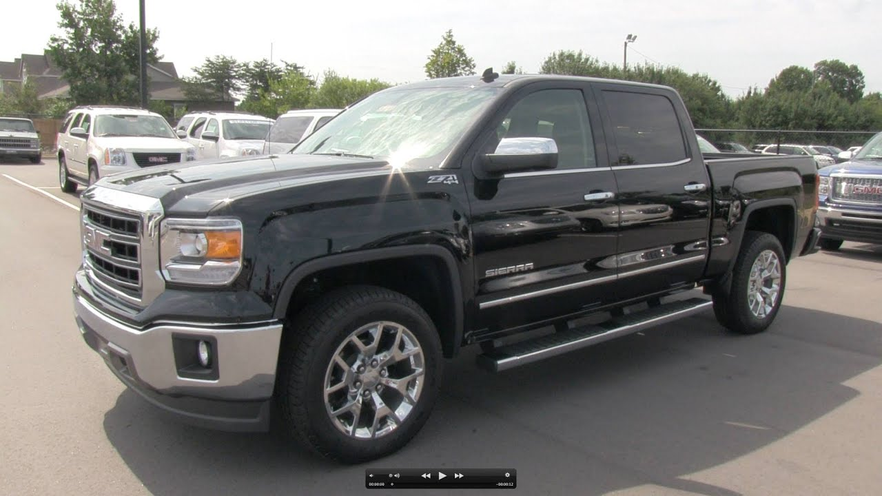 2014 gmc sierra slt z71 start up exhaust and in depth. Black Bedroom Furniture Sets. Home Design Ideas