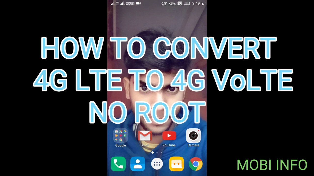 HOW TO CONVERT YOUR 4G PHONE LTE TO VoLTE || NO ROOT || FOR LENOVO K4 NOTE||