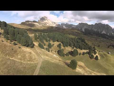 SECEDA - LECH SANT - DOLOMITES UNESCO - DJI F450 FPV