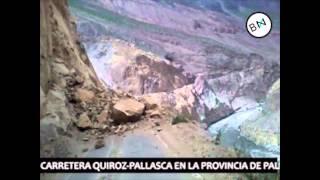 Pallasca: cinco distritos continuan bloqueados