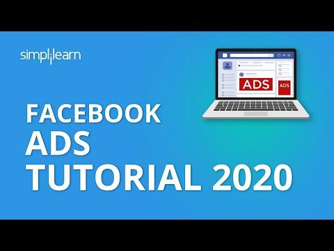 Facebook Ads Tutorial 2019 | How To Run Facebook Ads | Facebook Ads Manager 2019 | Simplilearn