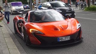 Supercar Parade in Munich - 100+ Supercars! (Enzo, MC12, 2x P1, 2x Veyron and more!)
