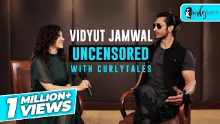 Getting Candid With Vidyut Jamwal | Curly Tales
