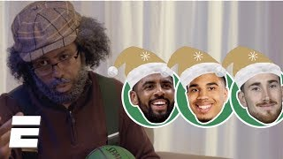 Sixers-Celtics Christmas Day promo starring Daveed Diggs and Ryan Nicole Peters | NBA