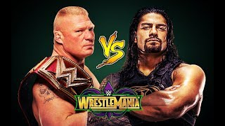 Download Video WWE Brock Lesnar Vs Roman Reigns • WrestleMania 34 Promo • HD MP3 3GP MP4