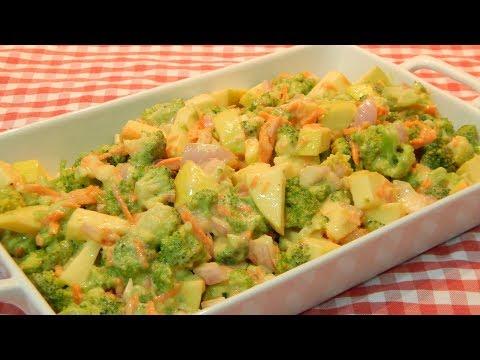 Ensalada agridulce de brócoli receta fácil y rápida
