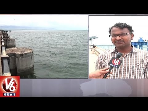 Singur Project Water Levels Increases With Heavy Inflow | Sangareddy | V6 News