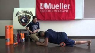 大腿四頭筋をGRIDフォームローラーを使ってほぐす TriggerPointTM Performance Therapy 横浜ビーコルセアーズ x Mueller Japan 放散痛 検索動画 24