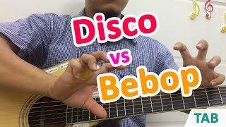 Cách đệm điệu DISCO và BEBOP đơn giản hiệu quả cho người mới học đàn guitar cơ bản | hoc dan ghi ta