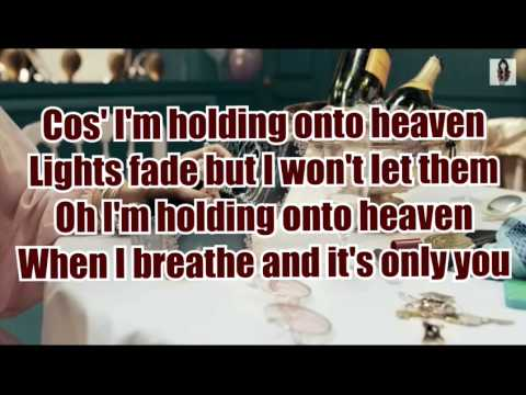 Foxes - Holding onto heaven LYRICS