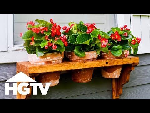 Easy DIY Window Planter - HGTV Happy