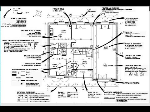 Lire Et Comprendre Un Plan Architecte | Le Guide Du Propriétaire ...