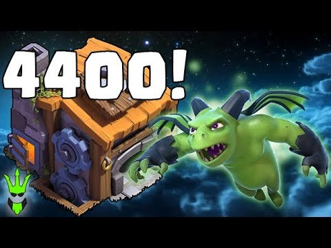 NEW PERSONAL BEST! - HITTING 4400 BH TROPHIES! - Clash of Clans - Builder Hall 7 Gameplay