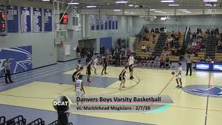 DHS Boys Varsity Basketball vs Marblehead - 2/7/20