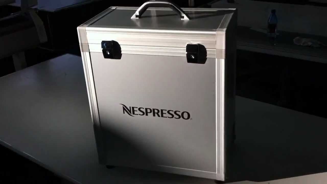 Exclusive presenter case for nespresso zenius cafe youtube for Meuble zenius nespresso