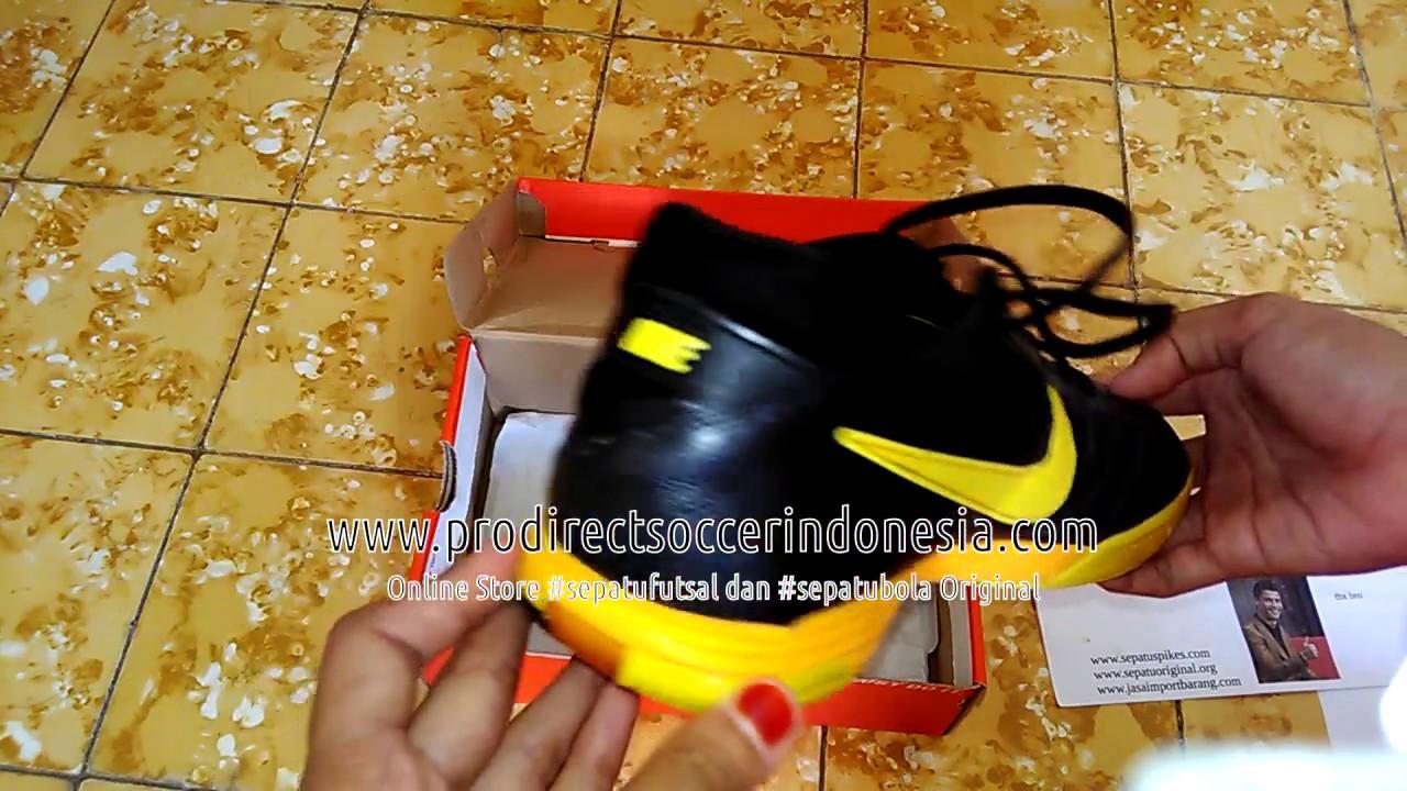 buy online 21a87 1b629 ... discount sepatu futsal nike5 lunar gato i black yellow original with  different box a7762 23f20