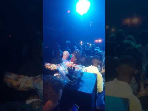 T-Pain performing at Young Cash Birthday Bash after MasterMind Artist.
