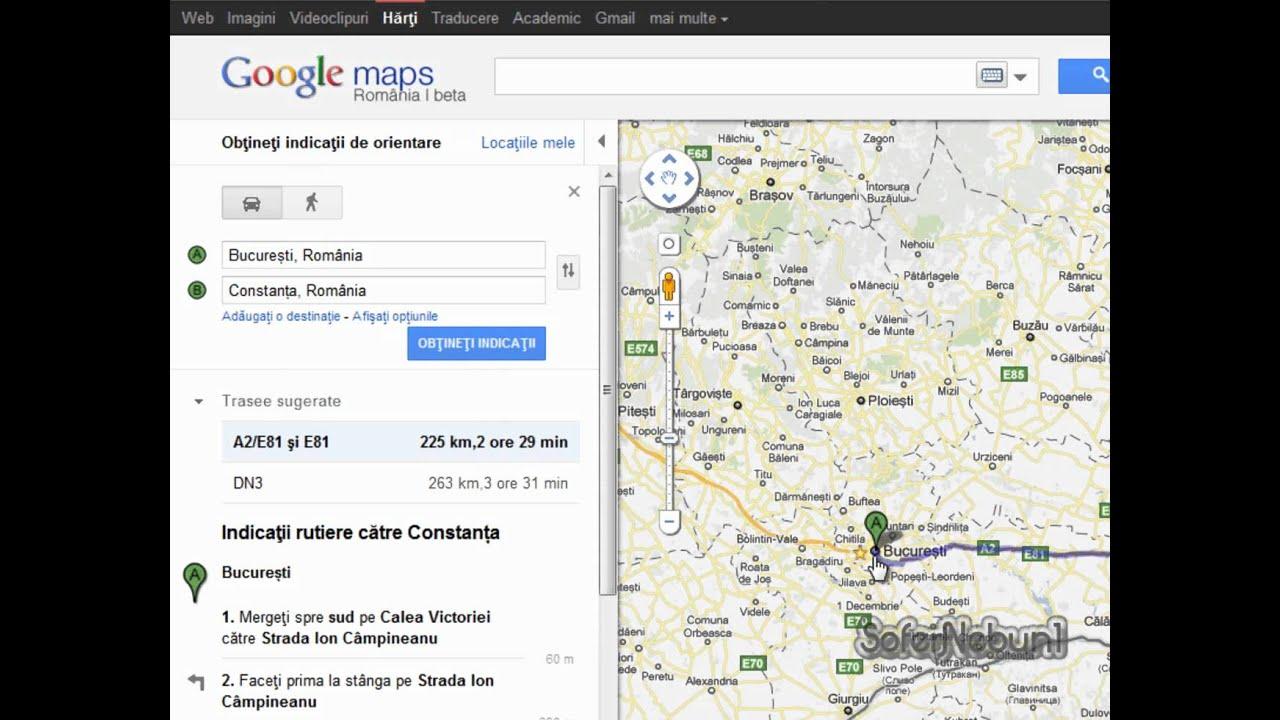 Cum Se Face Un Traseu De Orientare Cu Google Maps Tutorial Youtube