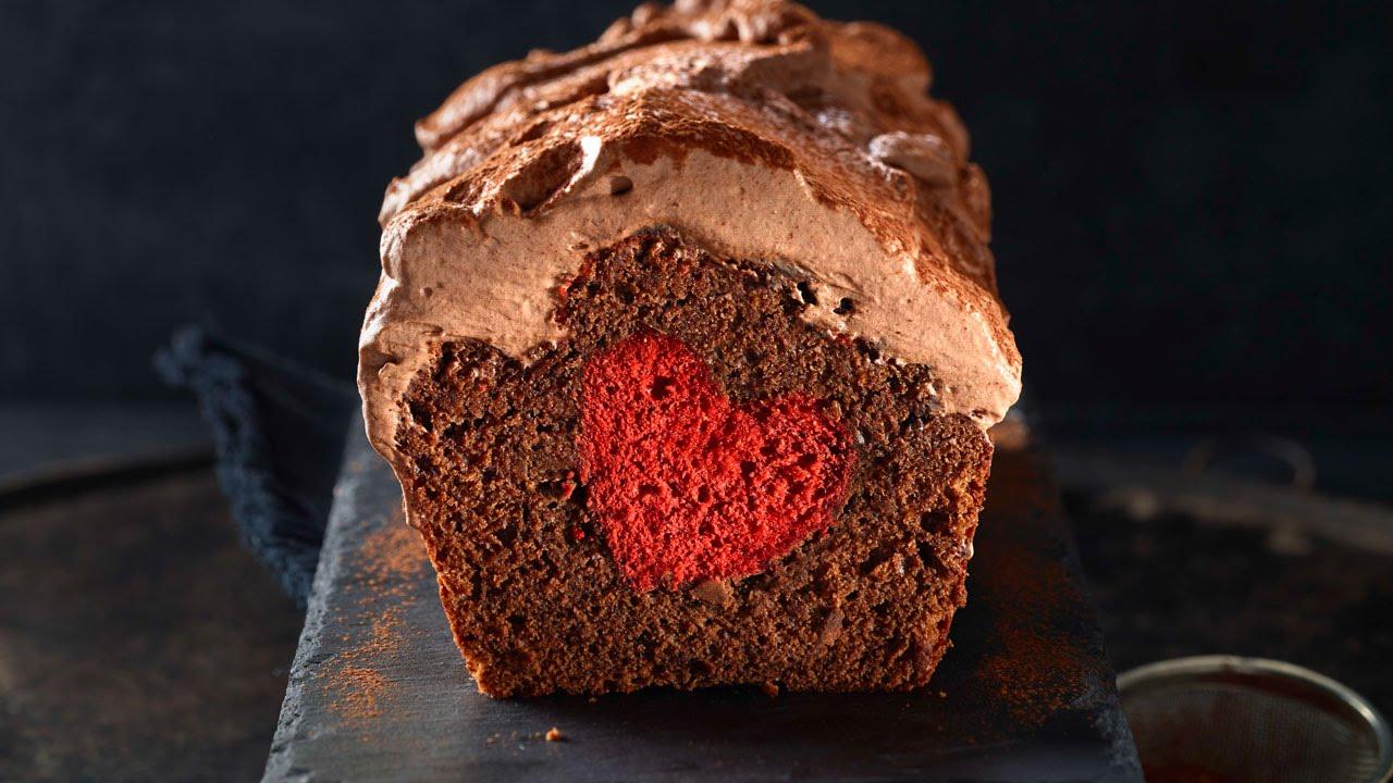 Schokoladecake Mit Herz Von Betty Bossi Youtube