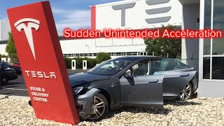 Sudden Unintended Acceleration in Teslas. A Closer Look.