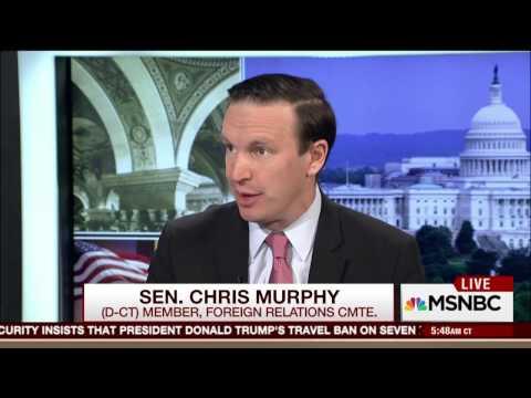 Senator Chris Murphy Discusses Trump