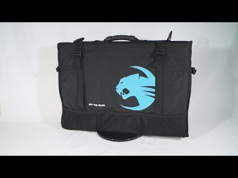 #1536 - Roccat Tusko Monitor Transport Bag Video Review