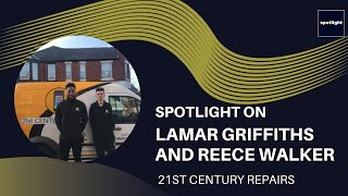 Spotlight on - Lamar Griffiths and Reece Walker, Founders of 21st Century Repairs.
