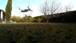drone moteur thermique PID tests