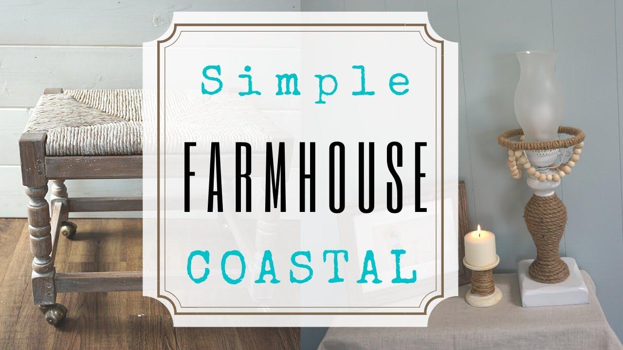 3 Coastal Farmhouse DIY's
