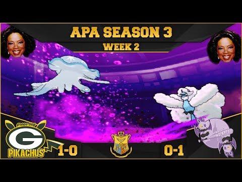 A Toxic For All! | Green Bay Pikachus VS New York Noibats APA S3 W2 | Pokemon Ultra Sun Moon