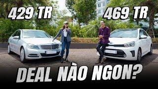 Xo Xánh: Mercedes C250 2011 vs Kia Soluto -  Hơn 400 triệu mua xe nào?  | Đường 2 Chiều