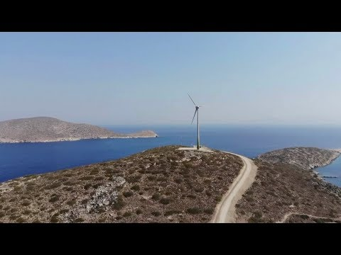 Greek island sets to get all energy from renewables