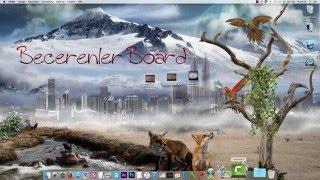 Becerenlerboard logo editleme video kesme anlatim.