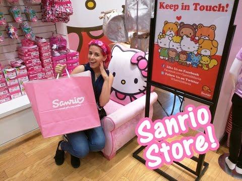 Hello Kitty Sanrio Store at Mall of Millenia Orlando Florida