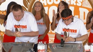 2015 Hooters World Wing Eating Championship
