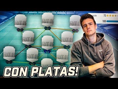 MI EQUIPAZO DE PLATAS PARA ESTE FUT CHAMPIONS!!