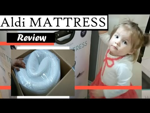 Lucid 10 Inch Plush Memory Foam Mattress Unboxing And R