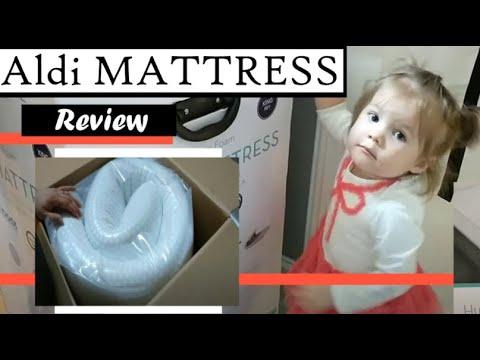 aldi 10 foam mattress review