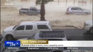 South Africa Storms: At least eight killed, thousands displaced by rain and flooding