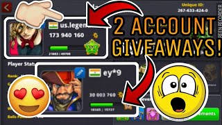 8BP - 170M + 30M GIVEAWAY!! | 2 GIVEAWAY ACCOUNTS! | HOW TO GET 200M COINS FOR FREE 😱