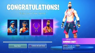NEW FORTNITE 14 DAYS OF SUMMER REWARDS! ALL 14 DAYS OF SUMMER CHALLENGES! (14 Days Of Summer)