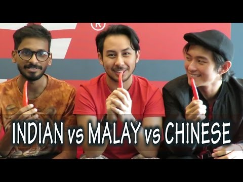 Thumbnail: Which Race is Hotter? INDIAN vs MALAY vs CHINESE