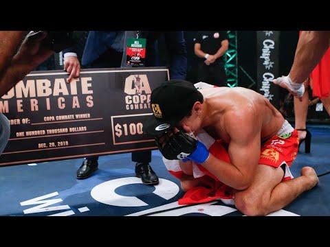Copa Combate 2018 Campeón   Humberto Bandenay   Combate Americas