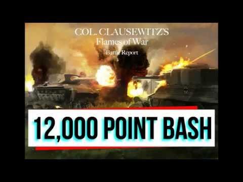 Flames of war, Battle report, 12,000 points. Battle of kiev, German defense in depth