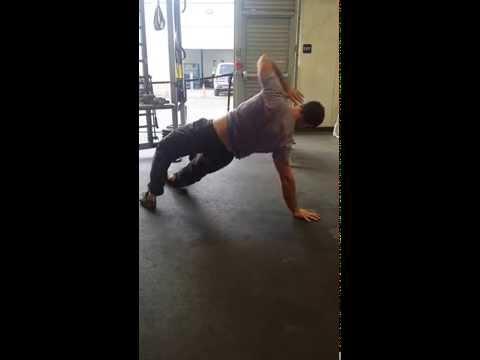 Dancing Dog Yoga Transition
