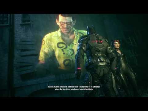 Let's Play Batman Arkham Knight Part 6 Tank Battles & Some Stealth W/Investigation