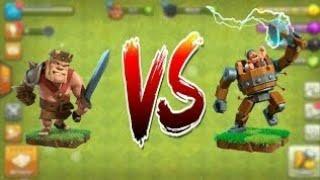 max barbarian king vs max battle machine | Clash of clans | coc private server 2018 |